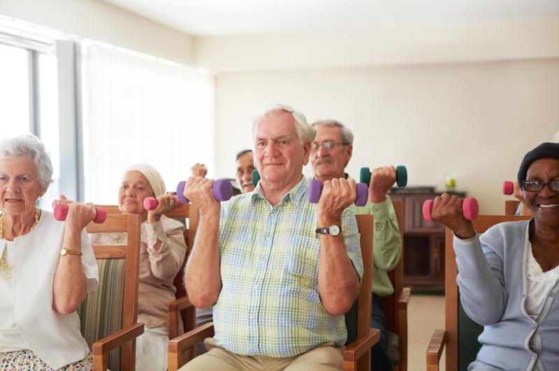 Click here for limited mobility exercise ideas!